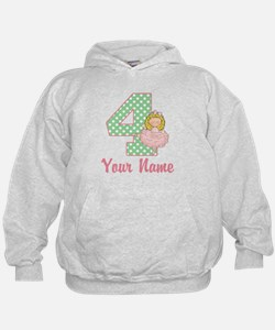 4th Birthday Ballet Hoodie