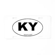 Kentucky State Aluminum License Plate