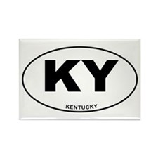 Kentucky State Rectangle Magnet