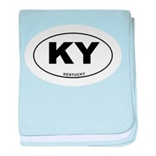 Kentucky State baby blanket