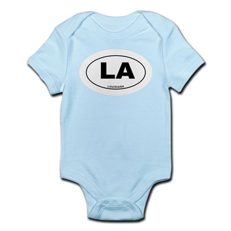 Louisiana State Infant Bodysuit