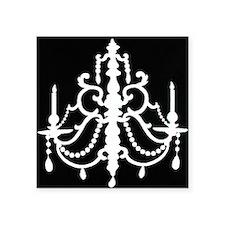 """chandeliershirt.jpg Square Sticker 3"""" x 3"""""""