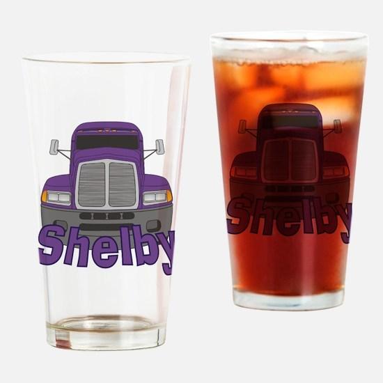 Trucker Shelby Drinking Glass