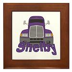 Trucker Shelby Framed Tile