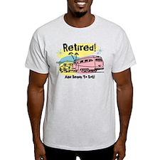 Retro Trailer Retired T-Shirt