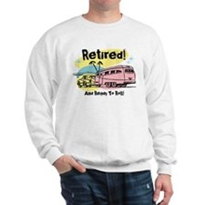 Retro Trailer Retired Sweatshirt