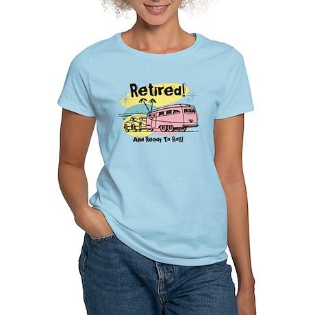 Retro Trailer Retired Women's Light T-Shirt