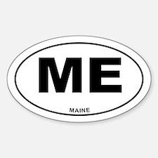 Maine State Sticker (Oval)