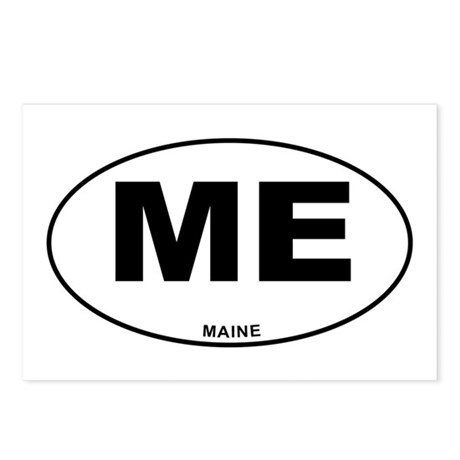 Maine State Postcards (Package of 8)