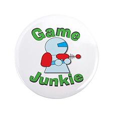 """Game Junkie 3.5"""" Button"""