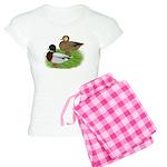 Grey Call Ducks Women's Light Pajamas