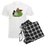 Grey Call Ducks Men's Light Pajamas