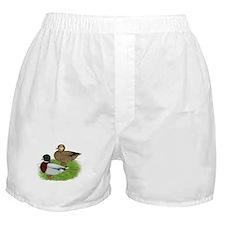 Grey Call Ducks Boxer Shorts