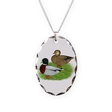 Grey Call Ducks Necklace