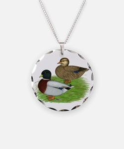 Grey Call Ducks Necklace
