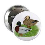 "Grey Call Ducks 2.25"" Button (10 pack)"