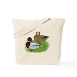 Grey Call Ducks Tote Bag
