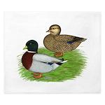 Grey Call Ducks King Duvet
