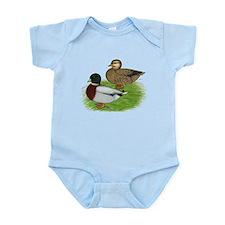 Grey Call Ducks Infant Bodysuit