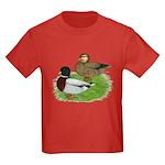 Grey Call Ducks Kids Dark T-Shirt