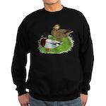 Grey Call Ducks Sweatshirt (dark)