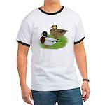 Grey Call Ducks Ringer T