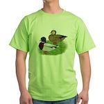 Grey Call Ducks Green T-Shirt