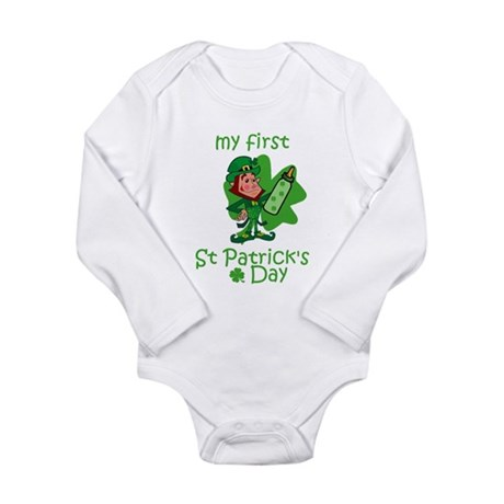 first st patricks day Body Suit