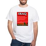 Iraq Occupation White T-Shirt