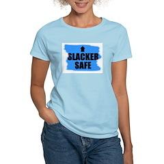 SLACKER SAFE Women's Pink T-Shirt