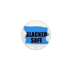SLACKER SAFE Mini Button (10 pack)