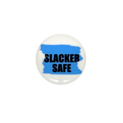 SLACKER SAFE Mini Button (10 pack)