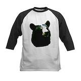 Kids black bear Baseball Jersey