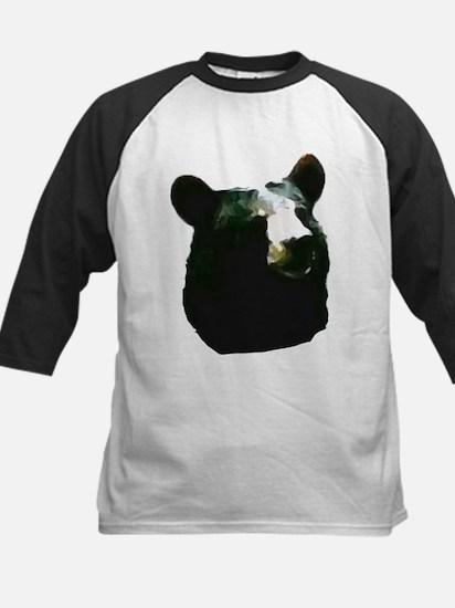 Boys Black Bear Baseball Jersey