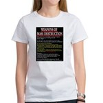 Weapons of Mass Destruct Women's T-Shirt