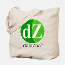 DZ with Text Centered Tote Bag