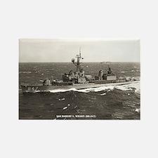 USS ROBERT L. WILSON Rectangle Magnet
