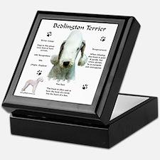 Bedlington 1 Keepsake Box