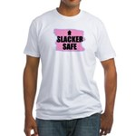HACKER SAFE (IN THE PINK) Fitted T-Shirt