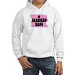HACKER SAFE (IN THE PINK) Hooded Sweatshirt