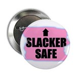 HACKER SAFE (IN THE PINK) Button