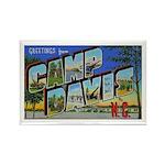 Camp Davis North Carolina Rectangle Magnet