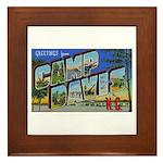 Camp Davis North Carolina Framed Tile
