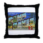 Camp Davis North Carolina Throw Pillow