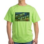 Camp Davis North Carolina Green T-Shirt