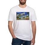 Camp Davis North Carolina Fitted T-Shirt