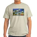 Camp Davis North Carolina (Front) Ash Grey T-Shirt