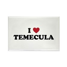 I Love Temecula, California Rectangle Magnet
