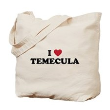 I Love Temecula, California Tote Bag