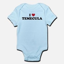 I Love Temecula, California Infant Bodysuit